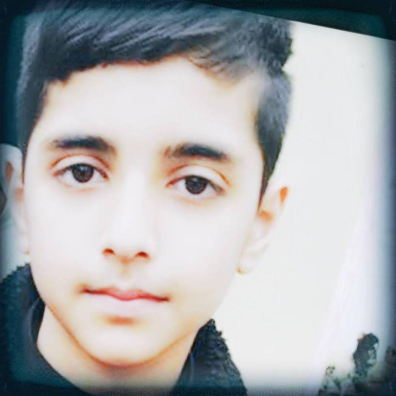 11 year old Asad Khan who hanged himself on 28 September 2016 after being bullied at school