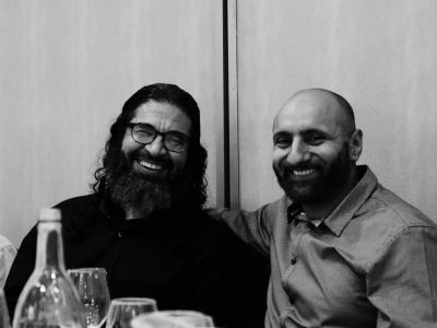 With former Guantanamo detainee Shaker Aamer. Between the two of us we spent 25 years in US custody as suspected terrorists.