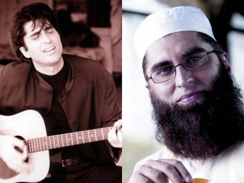 Junaid Jamshed before and after