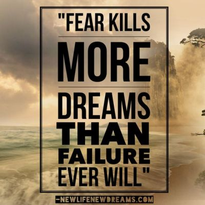 Five Ways to Overcome Fear in Your Life - image courtesy of newlifenewdreams.com