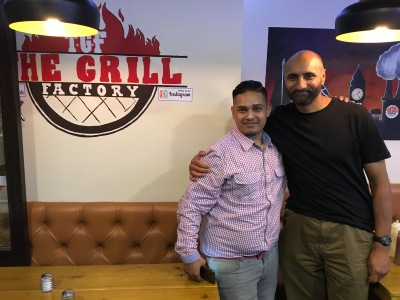 Babar Ahmad at The Grill Factory, London, UK, 20 August 2017