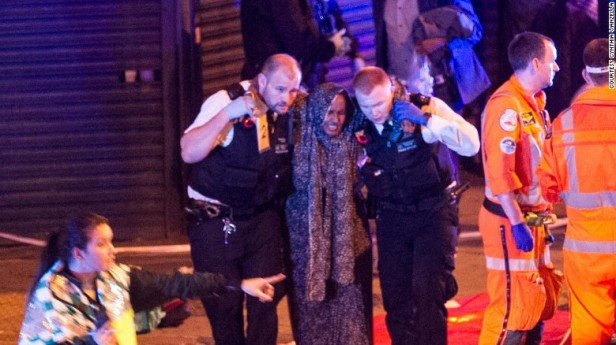 Woman victim of Finsbury Park terrorist attack helped by police officers