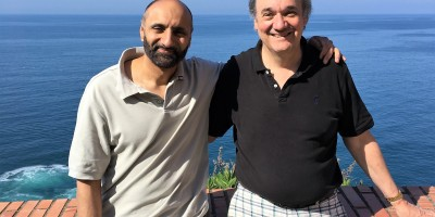 Babar Ahmad with his American lawyer Terry Ward