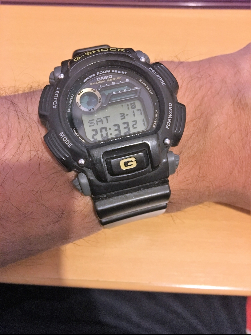 Babar Ahmad digital watch